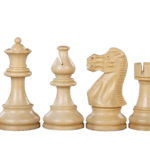 Atlantic Classic Staunton Sheesham Boxwood 3.75″ Chess Pieces With Storage Box Tournament