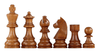 Downhead German Staunton Chess Pieces Sheesham Boxwood 3″