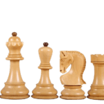 Zagreb 1959 Series Staunton Sheesham Boxwood 3.50″ Chess Pieces With Storage Box