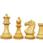 Executive Range Wooden Chess Set Macassar Board 20″ Weighted Sheesham Staunton Fierce Knight Pieces 3.75″