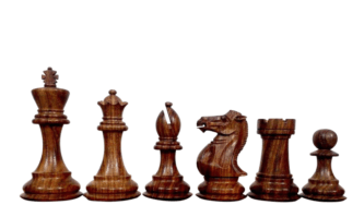 1884 Morphy Series Chess Pieces Professional Staunton Sheesham Boxwood 3.75″