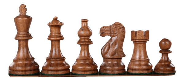 sheesham atlantic series classic staunton chess pieces 3""