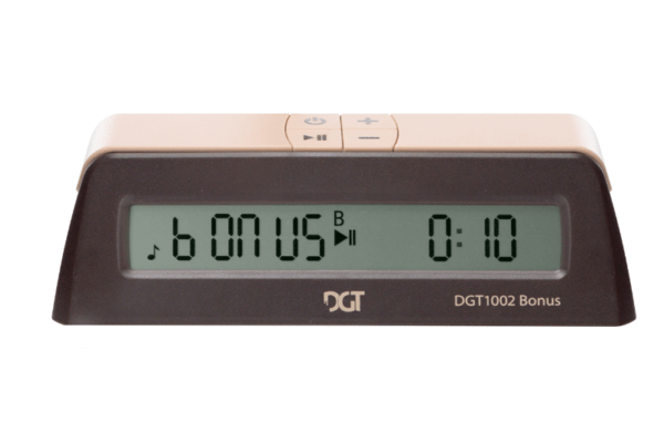dgt 1002 digital bonus chess clock
