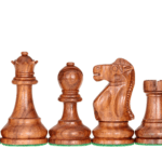 1972 Reykjavik Chess Pieces Broadbase Series Staunton Sheesham Boxwood 4″