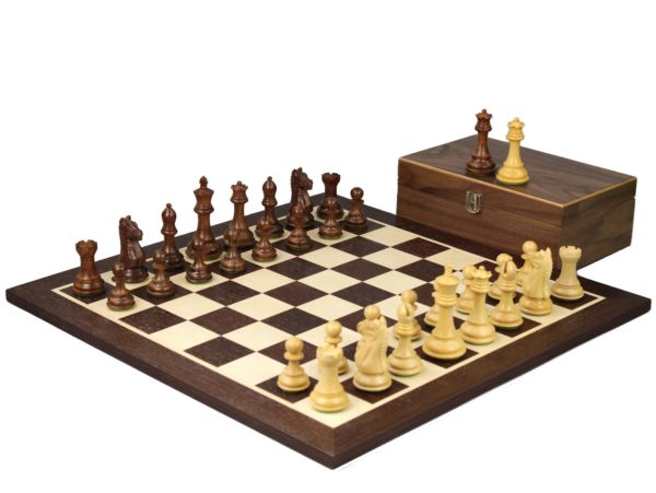 wenge staunton chess set with sheesham fierce knight chess pieces