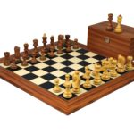 Executive Range Wooden Chess Set Palisander Board 20″ Weighted Sheesham Zagreb Staunton Pieces 3.75″