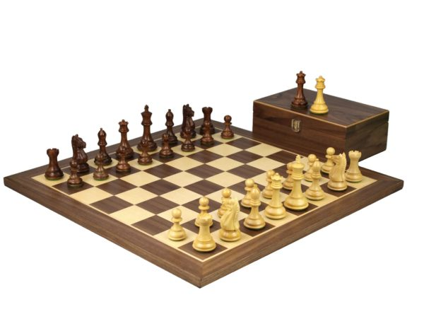 walnut staunton chess set sheesham fierce knight chess pieces