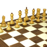Executive Range Wooden Chess Set Walnut Board 20″ Weighted Sheesham Zagreb Staunton Pieces 3.75″