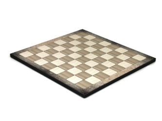 "Classic Range Wooden Flat Chess Board ""Platinum Oak""- 14″"
