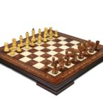 Premium Range Helena Chess Set Rosewood 23″ Weighted Sheesham Zagreb Staunton Chess Pieces 3.75″