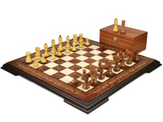 Premium Range Helena Chess Set Rosewood 20″ Weighted Sheesham Zagreb Staunton Chess Pieces 3.75″