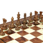 Premium Range Helena Chess Set Rosewood 23″ Weighted Sheesham Morphy Professional Staunton Chess Pieces 3.75″