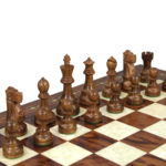 Premium Range Helena Chess Set Rosewood 23″ Weighted Sheesham Reykjavik Staunton Chess Pieces 3.75″