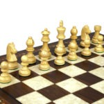 Premium Range Helena Chess Set Walnut 23″ Weighted Sheesham German Staunton Chess Pieces 3.75″