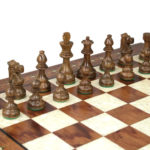 Premium Range Helena Chess Set Rosewood 20″ Weighted Sheesham French Knight Staunton Chess Pieces 3.75″