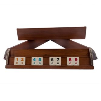Large VIP Rummy Set Solid Wood 16.5″