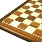 Original Range Chess Set Sheesham Flat Board 16″ With Downhead German Staunton Chess Pieces 3″