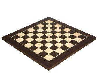 "Executive Range Chess Board ""Wenge & Maple"" – 21″"