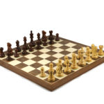 Executive Range Wooden Chess Set Walnut Board 20″ Weighted Sheesham Reykjavik Staunton Pieces 3.75″