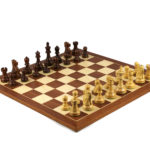 Executive Range Wooden Chess Set Mahogany Board 20″ Weighted Sheesham Reykjavik Staunton Pieces 3.75″
