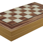 "Classic Range Backgammon Set ""American Walnut""- 19″"