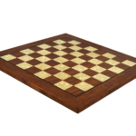 "Premium Range Helena Flat Mother of Pearl Chess Board ""Rosewood"" – 20″"